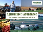 Agriculture's Abundance